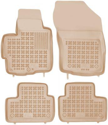 REZAW PLAST beżowe gumowe dywaniki samochodowe Citroen C4 Aircross od 2012r. 202306B/Z