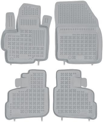 REZAW PLAST popielate gumowe dywaniki samochodowe Mitsubishi Space Star od 2014r. 202307S/Z