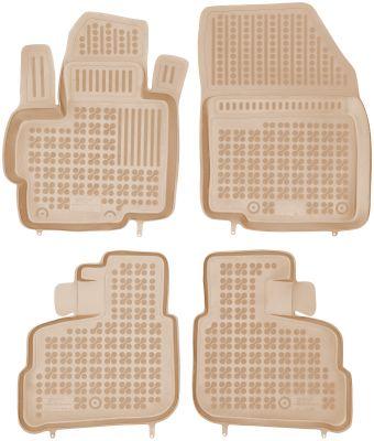 REZAW PLAST beżowe gumowe dywaniki samochodowe Mitsubishi Space Star od 2014r. 202307B/Z