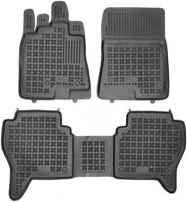 REZAW PLAST gumowe dywaniki samochodowe Mitsubishi Pajero IV od 2006r. 202308