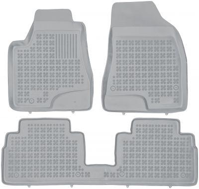 REZAW PLAST popielate gumowe dywaniki samochodowe Lexus RX II od 2005-2009r. 202401S/Z