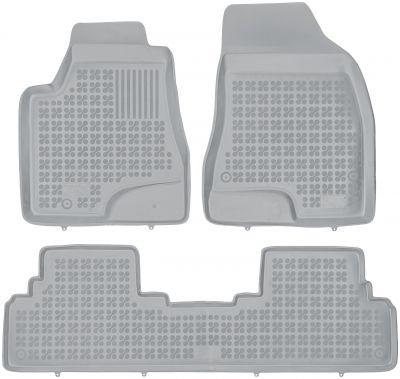REZAW PLAST popielate gumowe dywaniki samochodowe Lexus RX III od 2009-2012r. 202402S/Z