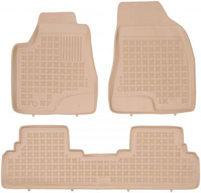 REZAW PLAST beżowe gumowe dywaniki samochodowe Lexus RX 450h od 2008-2012r. 202402B