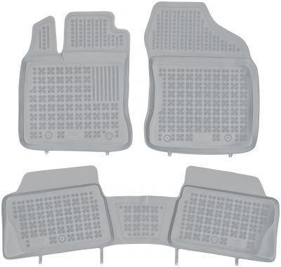 REZAW PLAST popielate gumowe dywaniki samochodowe Lexus CT 200h od 2011r. 202403S/Z