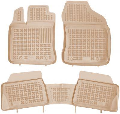 REZAW PLAST beżowe gumowe dywaniki samochodowe Lexus CT 200h od 2011r. 202403B/Z