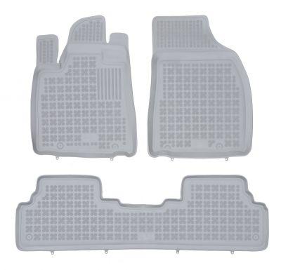 REZAW PLAST popielate gumowe dywaniki samochodowe Lexus RX 450h od 2012-2015r.202404S