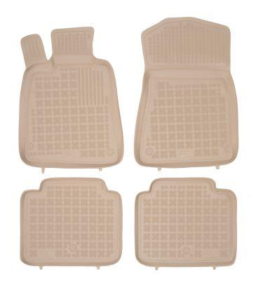 REZAW PLAST beżowe gumowe dywaniki samochodowe Lexus GS od 2005-2012r. (GS 250 / III S190 / 300 / 350 / 430 / 460 / 450H) 202405B