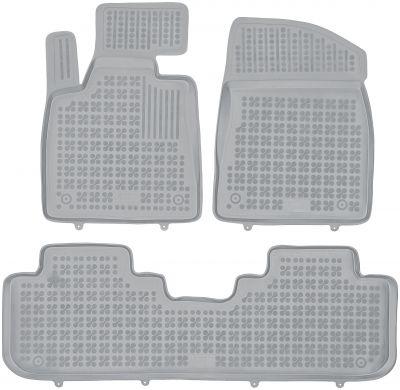 REZAW PLAST popielate gumowe dywaniki samochodowe Lexus RX IV od 2015r. 202408S/Z