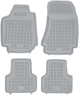 REZAW PLAST popielate gumowe dywaniki samochodowe Alfa Romeo 159 od 2005r. 202501S/Z