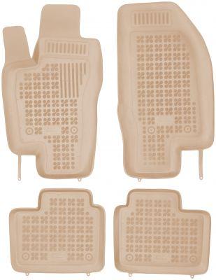 REZAW PLAST beżowe gumowe dywaniki samochodowe Alfa Romeo 156 od 2000-2006r. 202502B/Z