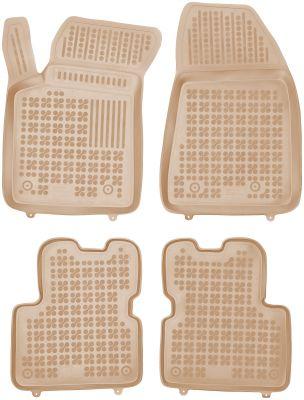 REZAW PLAST beżowe gumowe dywaniki samochodowe Alfa Romeo Giulietta od 2010r. 202504B/Z