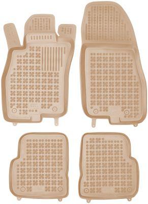 REZAW PLAST beżowe gumowe dywaniki samochodowe Alfa Romeo Mito od 2008r. 202505B/Z