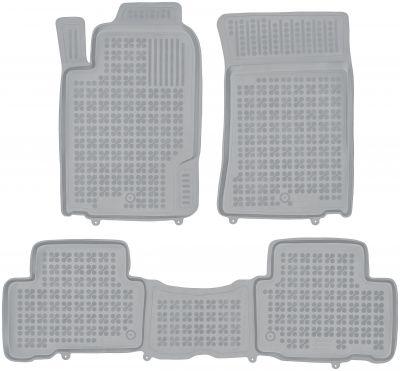 REZAW PLAST popielate gumowe dywaniki samochodowe SsangYong Rexton W od 2012r. 203001S/Z