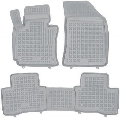 REZAW PLAST popielate gumowe dywaniki samochodowe SsangYong Tivoli XLV od 2015r. 203002S/Z