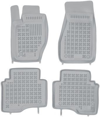 REZAW PLAST popielate gumowe dywaniki samochodowe Jeep Commander od 2006-2010r. 203103S/Z