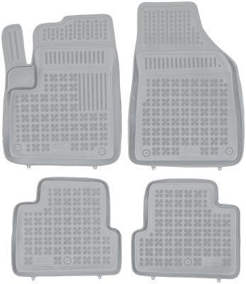 REZAW PLAST popielate gumowe dywaniki samochodowe Jeep Cherokee KL od 2013r. 203106S/Z
