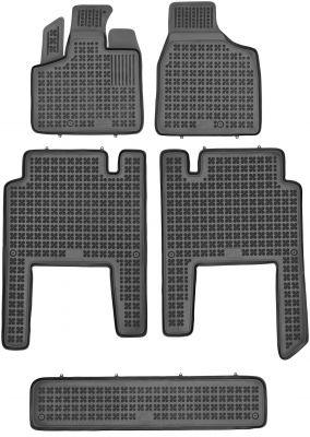 REZAW PLAST gumowe dywaniki samochodowe Lancia Voyager V 7-osobowe od 2011-2016r. 203701