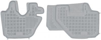 REZAW PLAST popielate gumowe dywaniki samochodowe Isuzu Elf VI N-Series L od 2006r. 203902S/Z