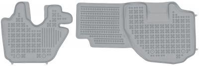 REZAW PLAST popielate gumowe dywaniki samochodowe Isuzu Elf VI N-Series N od 2006r. 203903S/Z