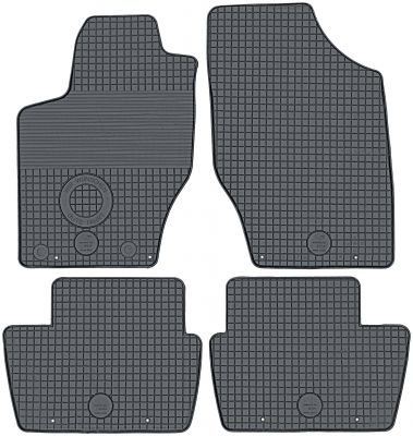DOMA Gumowe dywaniki samochodowe Citroen C4 od 2004-2010r.