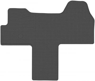 DOMA CZARNA Gumowe dywaniki samochodowe Citroen Jumper od 2006r.