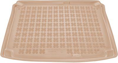 REZAW-PLAST beżowy gumowy dywanik mata do bagażnika Citroen C4 3D 5D od 2004-2010r. 230115B/Z