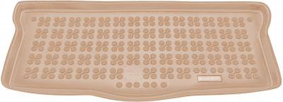 REZAW-PLAST beżowy gumowy dywanik mata do bagażnika Citroen C1 od 2005-2014r. 230116B/Z
