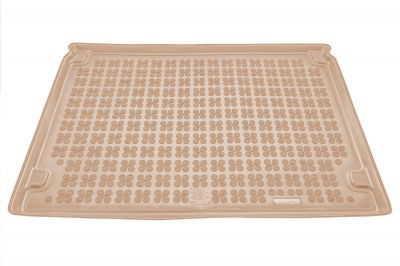 REZAW-PLAST beżowy gumowy dywanik mata do bagażnika Citroen Berlingo 5os. od 2008r. 230124B/Z