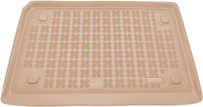 REZAW-PLAST beżowy gumowy dywanik mata do bagażnika Fiat Fiorino 5os od 2007r. 230127B/Z