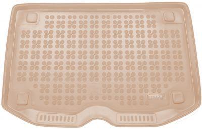 REZAW-PLAST beżowy gumowy dywanik mata do bagażnika Citroen C3 Picasso Pack XP od 2009-2016r. 230129B/Z