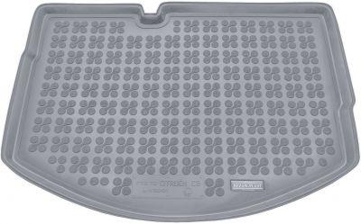 REZAW-PLAST popielaty gumowy dywanik mata do bagażnika Citroen C3 od 2009-2016r. 230130S/Z