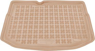 REZAW-PLAST beżowy gumowy dywanik mata do bagażnika Citroen C3 od 2009-2016r. 230131B/Z