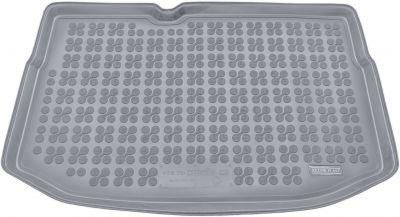 REZAW-PLAST popielaty gumowy dywanik mata do bagażnika Citroen C3 od 2009-2016r. 230131S/Z