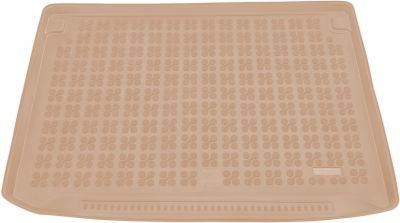 REZAW-PLAST beżowy gumowy dywanik mata do bagażnika Citroen C4 Picasso 7os. od 2013r. 230144B/Z