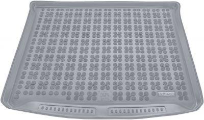 REZAW-PLAST popielaty gumowy dywanik mata do bagażnika Fiat 500L Living 7os.od 2013r. 230343S/Z