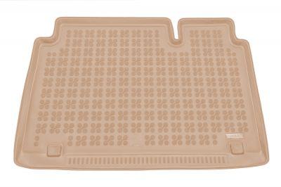 REZAW-PLAST beżowy gumowy dywanik mata do bagażnika Fiat Scudo II 8os. Long od 2006r. 230344B/Z
