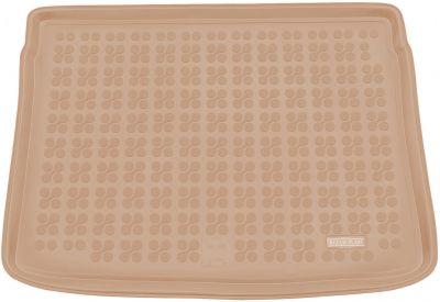 REZAW-PLAST beżowy gumowy dywanik mata do bagażnika Fiat 500X od 2014r. 230347B/Z