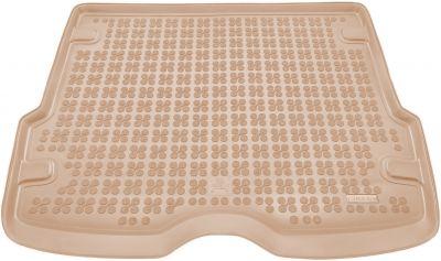 REZAW-PLAST beżowy gumowy dywanik mata do bagażnika Ford Focus I Kombi od 1998-2005r. 230406B/Z