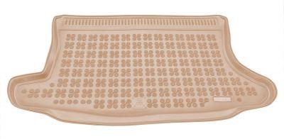 REZAW-PLAST beżowy gumowy dywanik mata do bagażnika Ford Fusion od 2002r. 230414B/Z