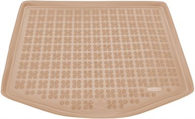 REZAW-PLAST beżowy gumowy dywanik mata do bagażnika Ford C-MAX I od 2003-2010r. 230415B/Z