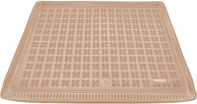 REZAW-PLAST beżowy gumowy dywanik mata do bagażnika Ford S-MAX 7os od 2006-2015r. 230423B/Z