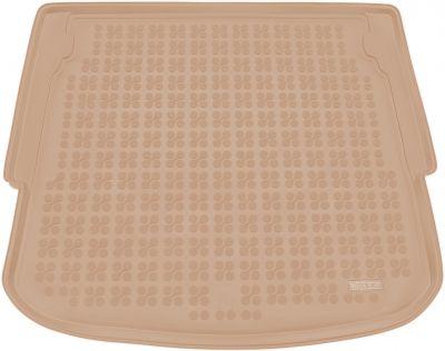 REZAW-PLAST beżowy gumowy dywanik mata do bagażnika Ford Mondeo IV Hatchback od 2007-2014r. 230425B/Z