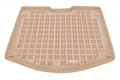 REZAW-PLAST beżowy gumowy dywanik mata do bagażnika Ford C-MAX II od 2010r. 230434B/Z