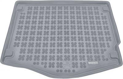 REZAW-PLAST popielaty gumowy dywanik mata do bagażnika Ford Focus Hatchback od 2011r. 230435S/Z