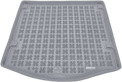 REZAW-PLAST popielaty gumowy dywanik mata do bagażnika Ford Focus Sedan od 2011r. 230436S/Z