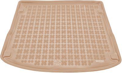 REZAW-PLAST beżowy gumowy dywanik mata do bagażnika Ford Focus III Kombi od 2011r. 230437B/Z