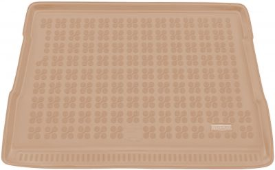 REZAW-PLAST beżowy gumowy dywanik mata do bagażnika Ford Tourneo Courier od 2014r. 230447B/Z