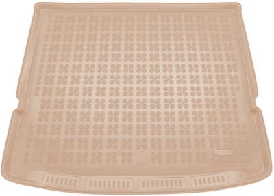 REZAW-PLAST beżowy gumowy dywanik mata do bagażnika Ford S-MAX 7os od 2015r. 230453B/Z