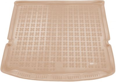 REZAW-PLAST beżowy gumowy dywanik mata do bagażnika Ford Galaxy od 2015r. 230454B/Z