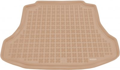 REZAW-PLAST beżowy gumowy dywanik mata do bagażnika Honda Civic VIII Sedan od 2006-2011r. 230519B/Z